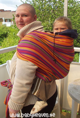 how to make a baby carry sling